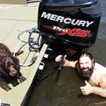 Don Gardner & Otter-Dog